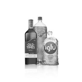 Combo Old Times - Old Times Red 750 ml  + Guaraná 2L + Hielo 1.5 kg